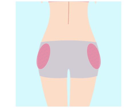 お尻の筋肉(中殿筋)のトレーニング