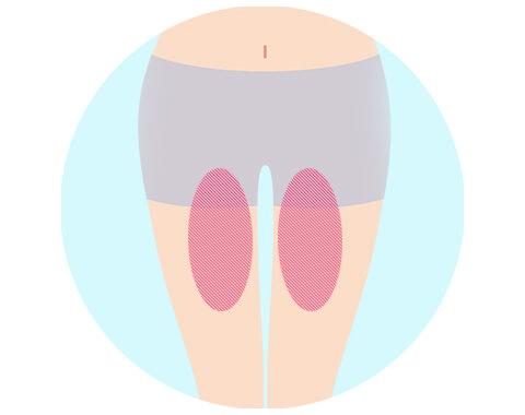 内腿の筋肉トレーニング