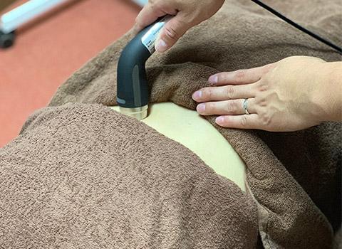 鍼、ハイボルテージ治療2